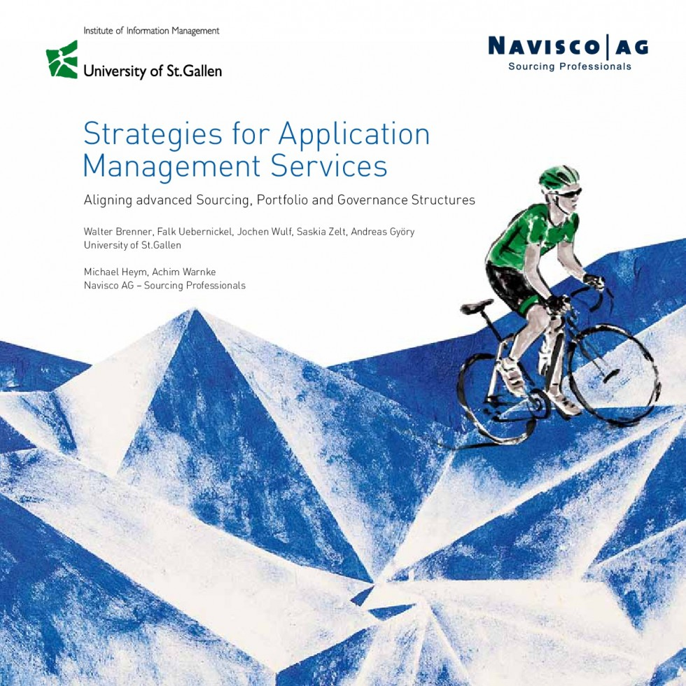 Strategies for Application Management Services